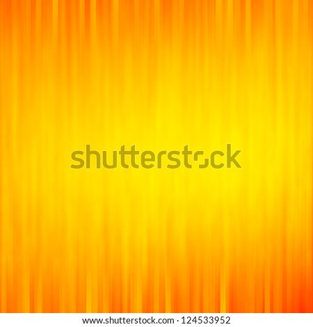yellow background with strips texture pattern and orange vignette - stock photo
