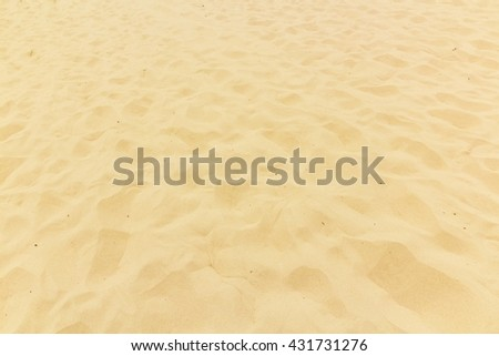 Yellow beach sand as background