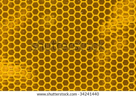 yellow blank road sign texture - stock photo