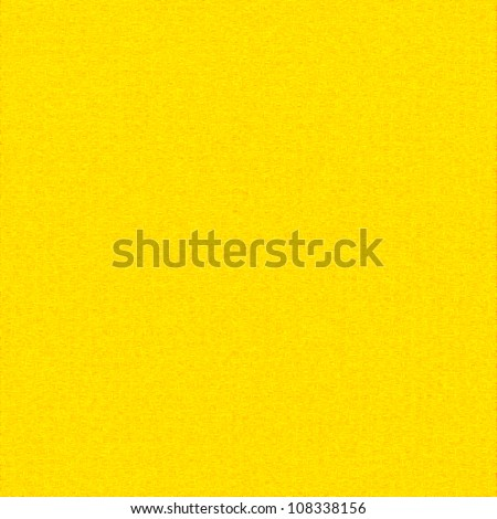 yellow canvas texture easter background with delicate seamless pattern greeting card template - stock photo