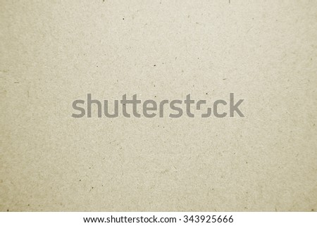Yellow cardboard texture or background
