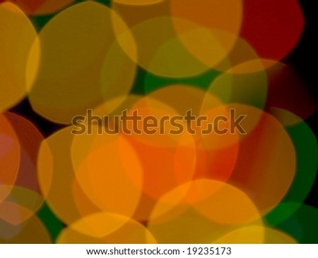 yellow color blur circle background