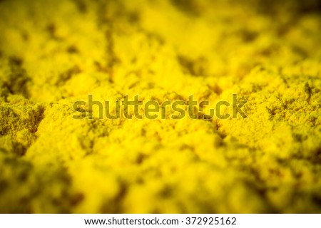 Yellow colour toner for printer - stock photo
