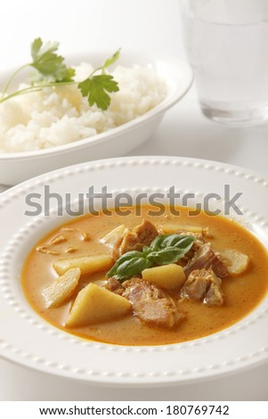 Yellow curry Thai