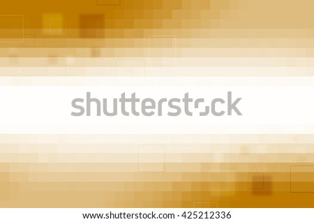 yellow digital abstract background - stock photo