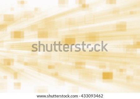 yellow digital abstract technology background - stock photo