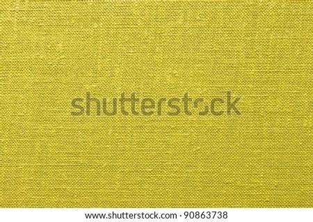Yellow fabric - stock photo