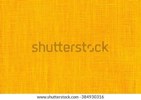 yellow fabric texture - stock photo