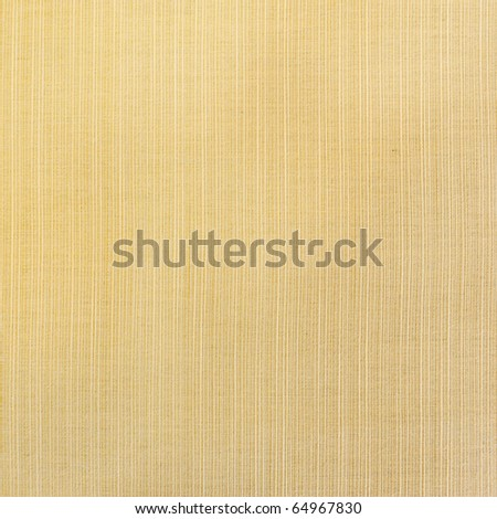 yellow fabric texture background - stock photo