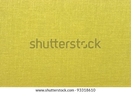 Yellow fabric texture for background - stock photo