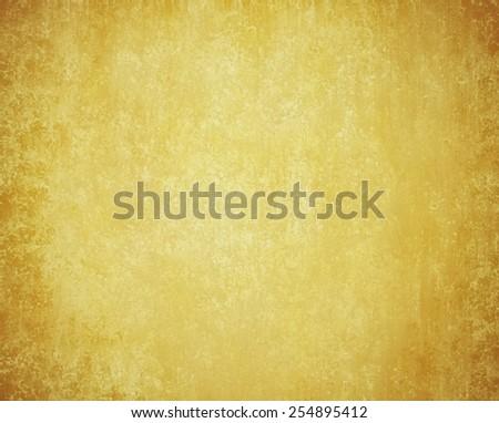 yellow gold vintage background texture - stock photo