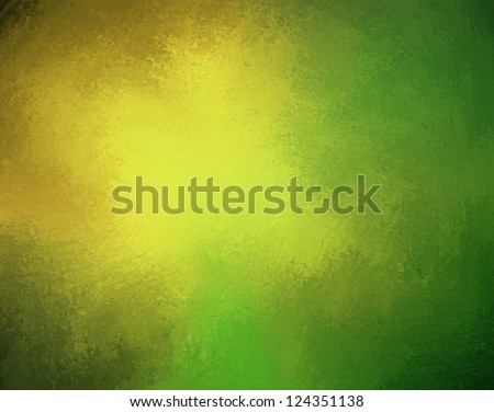 Yellow Green Background Color Splash On Stock Illustration 124351138 ...