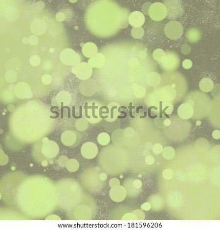 Yellow-green bokeh on slate grey background