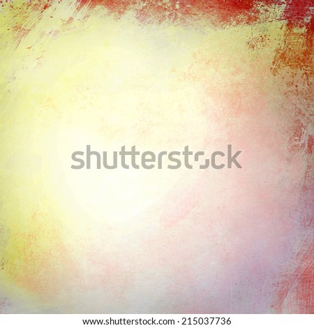Yellow grunge background texture - stock photo