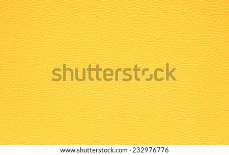 yellow  leather texture background - stock photo