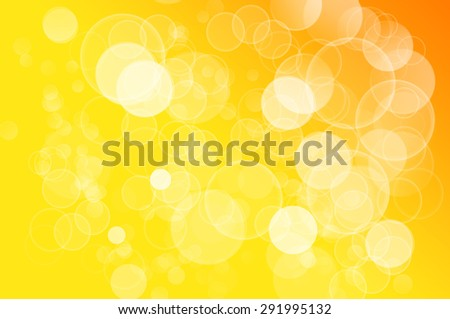 Yellow lights background