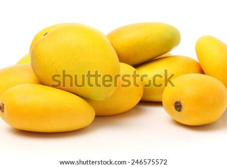 yellow Mango  - stock photo