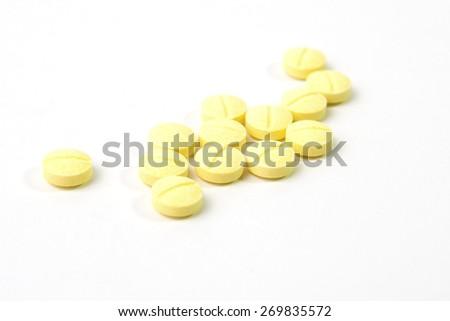 Yellow Medicine - stock photo