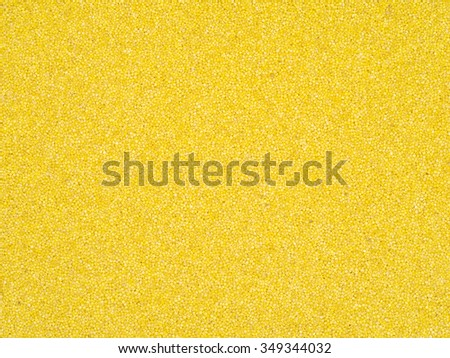 Yellow millet background