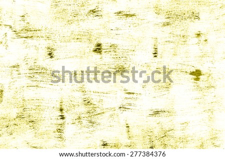 Yellow painted background or texture