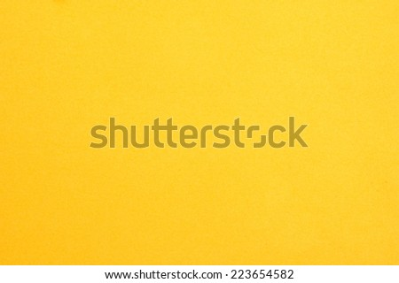 yellow paper background, colorful paper texture - stock photo