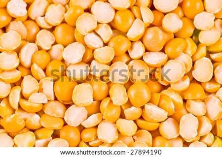Yellow peas as a background