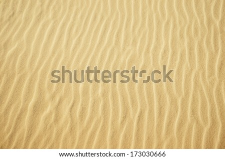 Yellow sand texture for background - stock photo