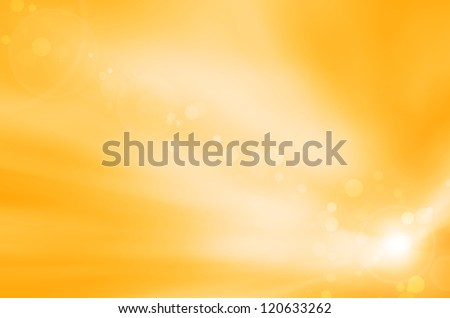 yellow soft background and lens flare