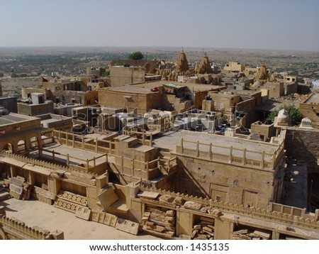 Yellow stone Jaisalmer