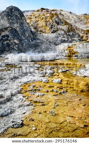 Yellow Stone National Park - stock photo