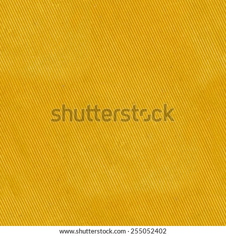 yellow striped cloth fabric, seamless texture - stock photo