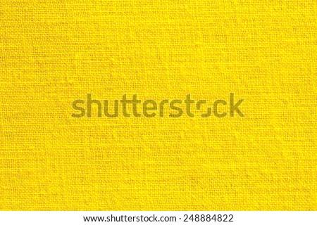 Yellow Textile Texture or Background/Yellow Textile - stock photo