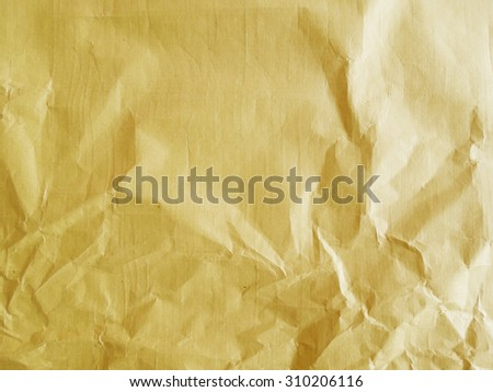 Yellow tissue paper background texture - stock photo