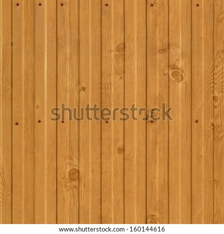 Yellow vertical planks seamless texture - stock photo