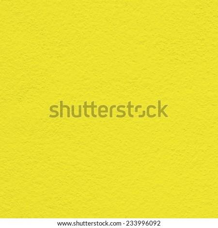 yellow wall paint texture - stock photo