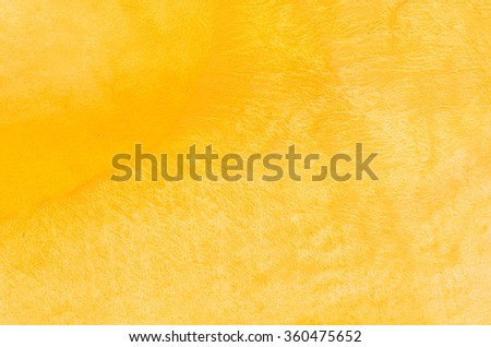 yellow watercolor painting background texture - stock photo