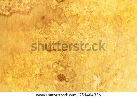 Yellow Watercolor Textures 6 - stock photo