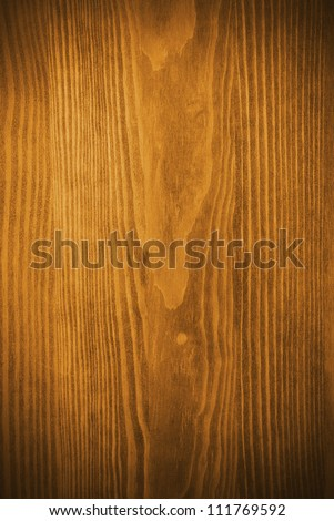 yellow Wood background. Wooden board - stock photo