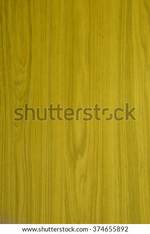 Yellow wooden texture background