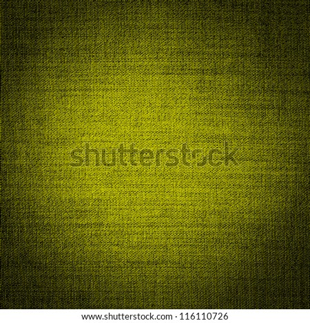 yellow woven texture, fabric - stock photo
