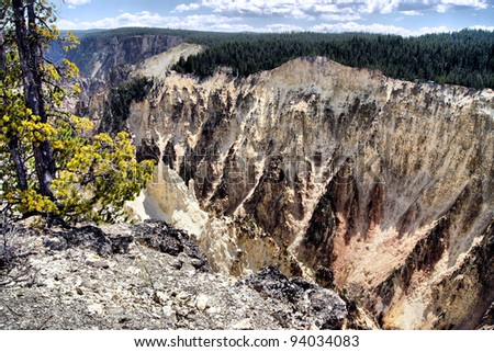Yellowstone National Park - stock photo