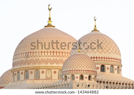 Yemen. Sanaa. Saleh mosque - stock photo