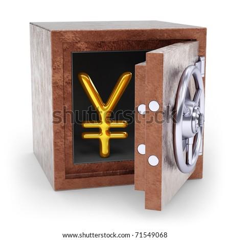 yen - stock photo