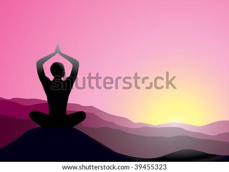 yoga - stock photo