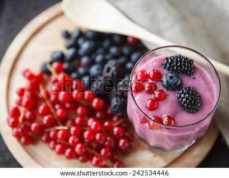 Yogurt - stock photo