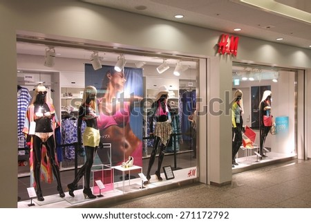 2012 H&m Store Window