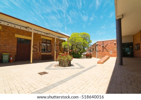 YORK, AUSTRALIA - November 7, 2016 : York Visitor Centre.  York is the oldest inland town in Western Australia .