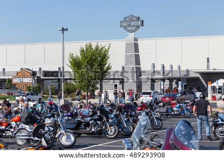 free motorcycle parking york  York PA September 23 2016 Motorcycle Stock Photo (Royalty Free ...