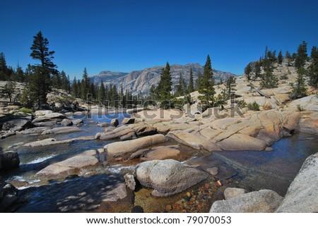 Yosemite National Park - stock photo