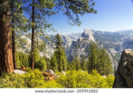 Yosemite National Park, California, USA - stock photo